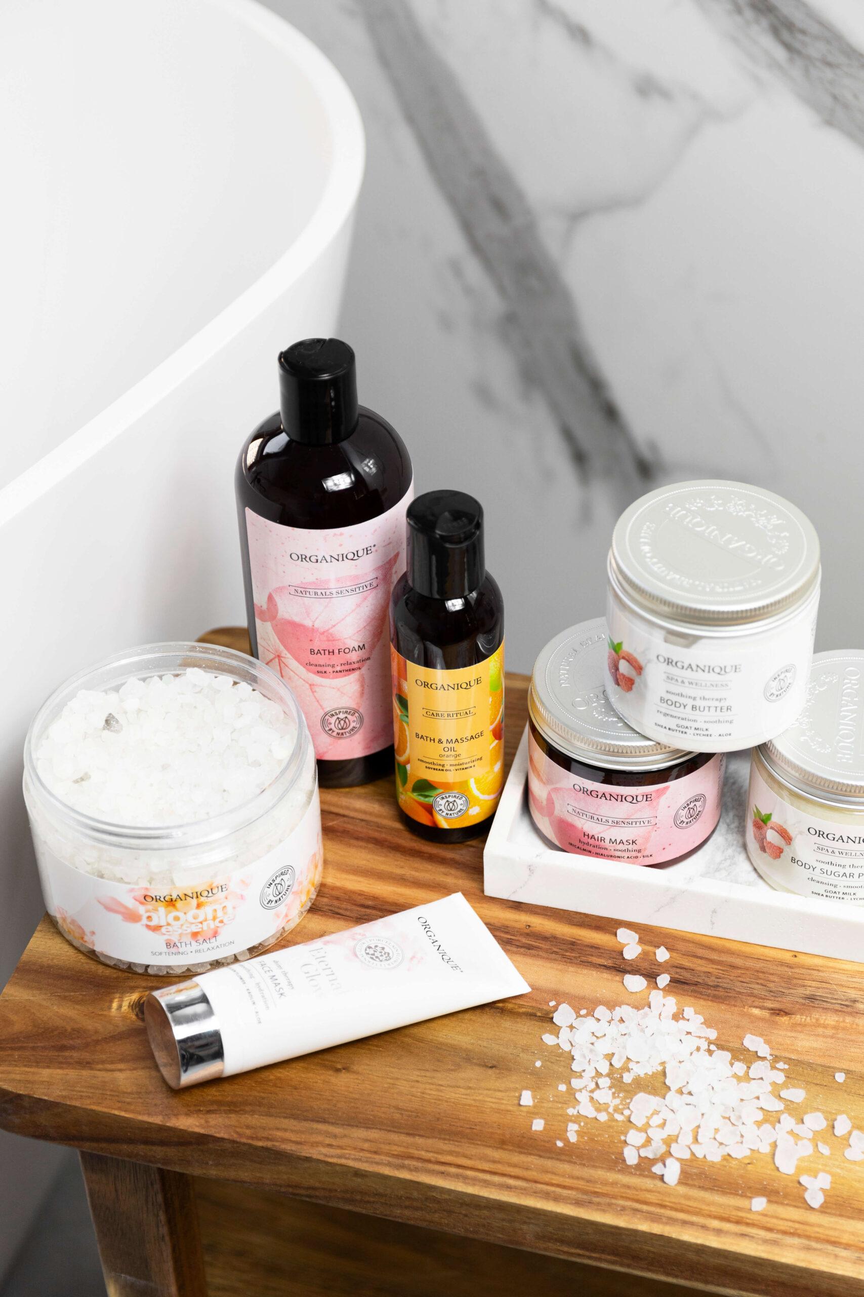 kosmetyki do kąpieli organique